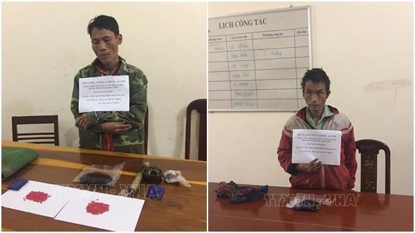 Bắt giữ 2 đối tượng mua bán trái phép ma túy từ Lào về Việt Nam