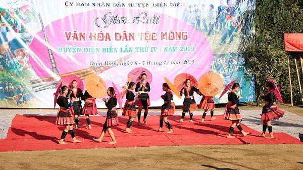 Điện Biên: Sôi nổi các hoạt động trong ngày hội giao lưu văn hóa dân tộc Mông