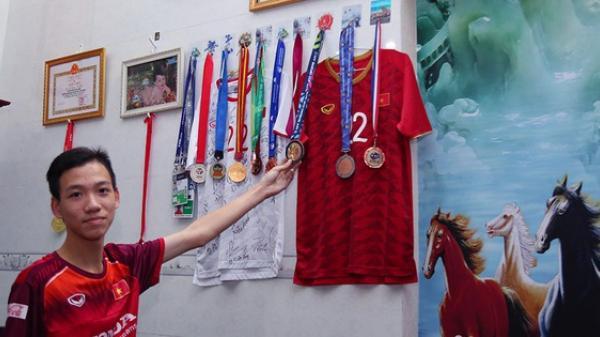 """Em trai tiền đạo Tiến Linh: """"Em tin anh trai sẽ ghi bàn giúp U22 Việt Nam vô địch SEA Games 30"""""""