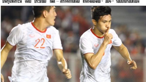 """Báo Thái Lan: """"Cách mà Việt Nam vô địch SEA Games thật vĩ đại!"""""""