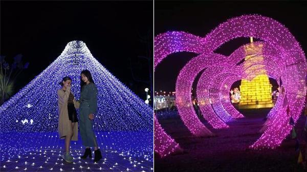 Cực HOT lễ hội ánh sáng với hàng triệu bóng đèn Led lần đầu tiên được tổ chức tại Tứ Kỳ