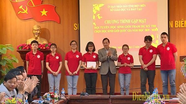 40 học sinh Điện Biên tham dự kỳ thi chọn học sinh giỏi quốc gia năm học 2019 - 2020