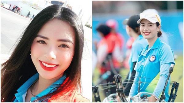 Nhan sắc xinh đẹp và thành tích 'khủng' của nữ cung thủ Việt Nam tại SEA Games 30 khiến dân tình xuýt xoa