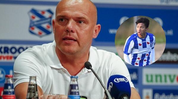 """HLV SC Heerenveen: """"Văn Hậu cần kiên nhẫn đợi thời cơ, cậu ấy rất cần thiết cho nửa sau của mùa giải"""""""