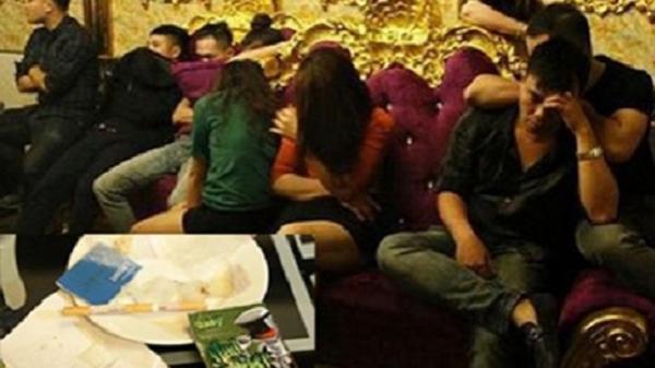 Hải Dương: Bắt 13 đối tượng sử dụng ma túy tại phòng karaoke