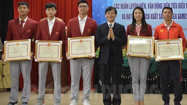 Hải Dương: Khen thưởng vận động viên đạt thành tích xuất sắc tại SEA Games 30