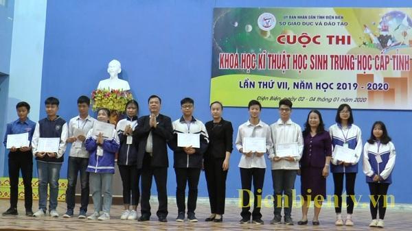 Điện Biên: Trao 75 giải Cuộc thi Khoa học kỹ thuật học sinh trung học cấp tỉnh lần thứ VII