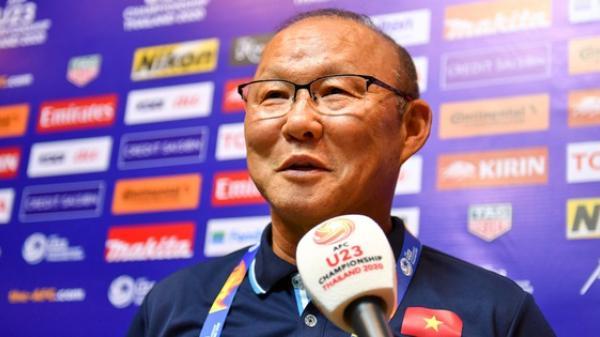 """HLV Park Hang-seo: """"U23 Việt Nam còn thiếu kinh nghiệm, 1 điểm trước UAE là tốt rồi"""""""