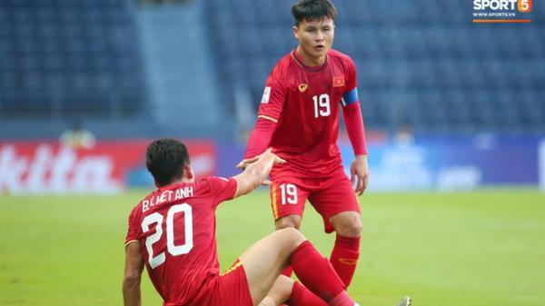 AFC nhầm lẫn khi cho UAE đứng cao hơn Việt Nam trên xếp hạng bảng D giải U23 châu Á 2020