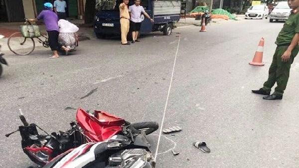 Hải Dương: 2 xe máy va chạm ở đường thôn, 1 người tử vong