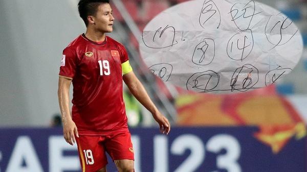 Lộ tờ giấy khiến U23 Việt Nam loạn nhịp