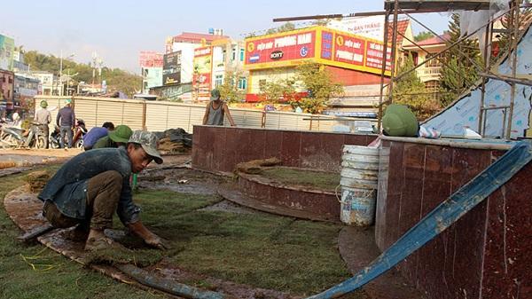 Dự án Cải tạo, nâng cấp hạ tầng đường Võ Nguyên Giáp: Cơ bản hoàn thành trước tết Nguyên đán