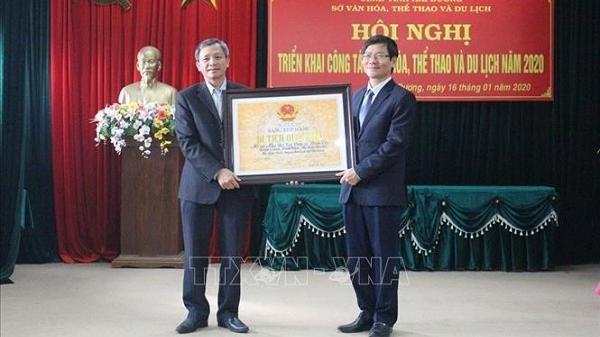 Di tích Mộ và Nhà thờ 3 vị Tiến sĩ ở Hải Dương được xếp hạng di tích cấp quốc gia