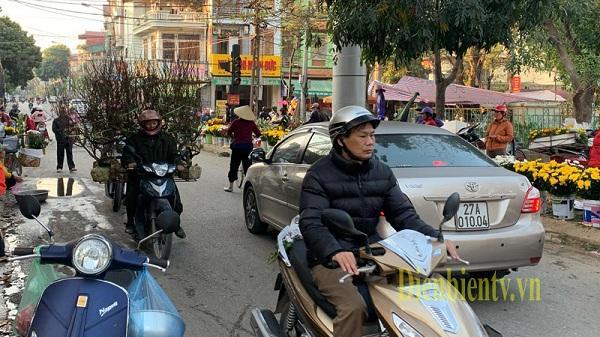 Điện Biên: Nhộn nhịp thị trường hoa, cây cảnh những ngày giáp tết