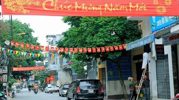 Chùm ảnh: Ngắm TP Hải Dương, thị xã Kinh Môn trang hoàng đón Tết