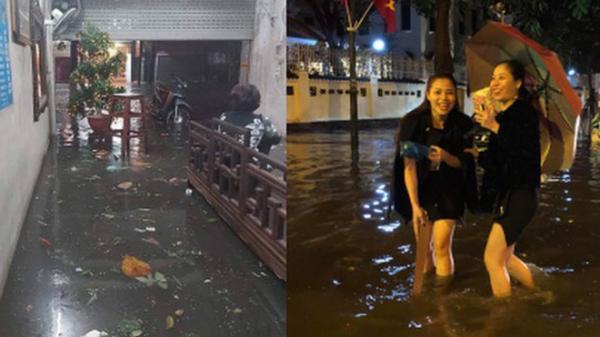 Ác mộng nước ngập đêm 30 Tết: Nước đục ngầu tràn vào nhà, đêm giao thừa bì bõm chờ đón pháo hoa