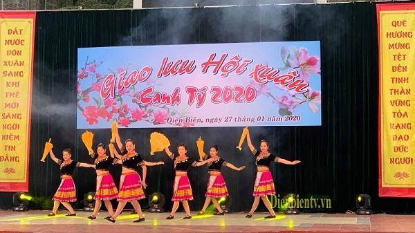 Mùng 3 tết: TP. Điện Biên Phủ diễn ra nhiều hoạt động giao lưu Hội xuân Canh tý 2020