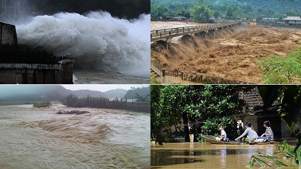 CLIP: Bàng hoàng trước hình ảnh thảm khốc đến không tin nổi trong những ngày mưa lũ lịch sử
