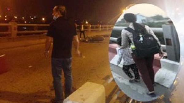 Hà Nội: Dắt con đi ăn xin trên cầu Thanh Trì, người mẹ bị xe máy tông tử vong, con bị thương