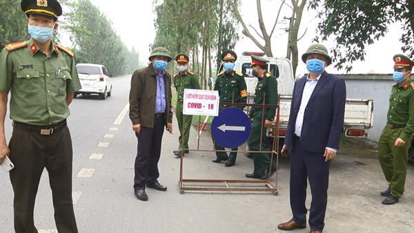 Hải Dương: UBND huyện Thanh Hà thành lập 127 chốt kiểm soát dịch Covid-19