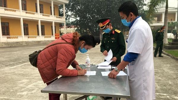 Điện Biên: 372 công dân hoàn thành nghĩa vụ cách ly