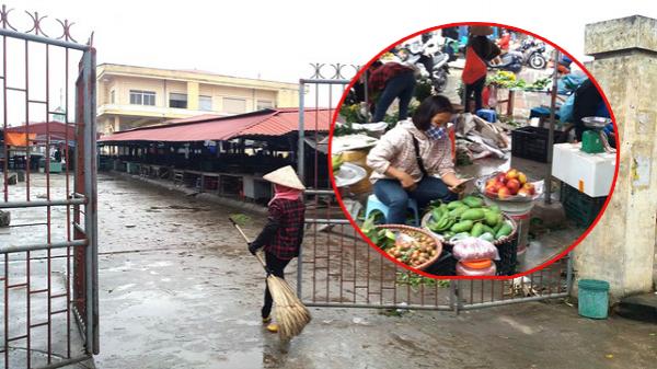 Dừng họp chợ ở Hải Dương: Nơi vẫn bán, chỗ không bóng người