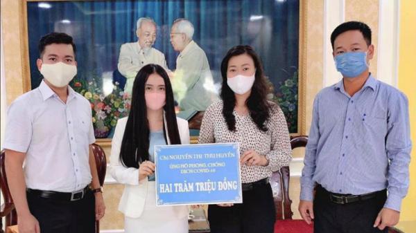 Cô giáo trẻ Hưng Yên ủng hộ 200 triệu đồng góp phần đẩy lùi dịch Covid-19