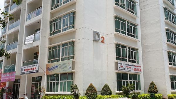 Hiện trường luật sư có tiếng rơi ở chung cư New Sài Gòn