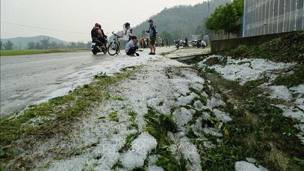 Khả năng nhiều giờ tới, Điện Biên tiếp tục mưa to, đề phòng lốc, sét, mưa đá