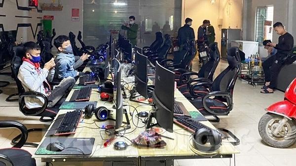 Hải Dương: Quán game chưa đủ điều kiện vẫn hoạt động bất chấp lệnh cách ly xã hội