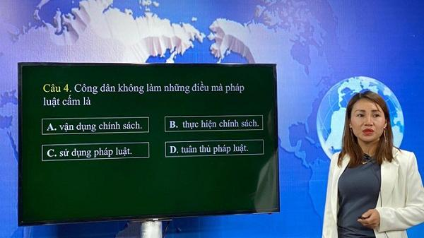 Điện Biên chính thức triển khai dạy học trên truyền hình, internet từ ngày 10/4