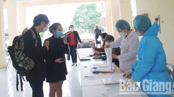 Bắc Giang: Kết quả xét nghiệm Covid-19 của 6 trường hợp đi chợ Quảng Bá và chợ hoa Mê Linh