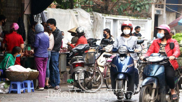 Một số vi phạm quy định cách ly toàn xã hội tại thành phố Hưng Yên