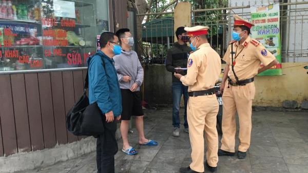 Hưng Yên: Xử phạt 1 trường hợp không đeo khẩu trang nơi công cộng