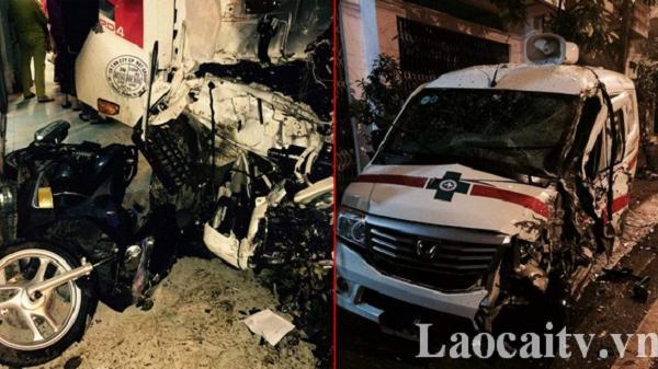 1 người bị thương trong tai nạn liên hoàn trên đường Hoàng Quốc Việt