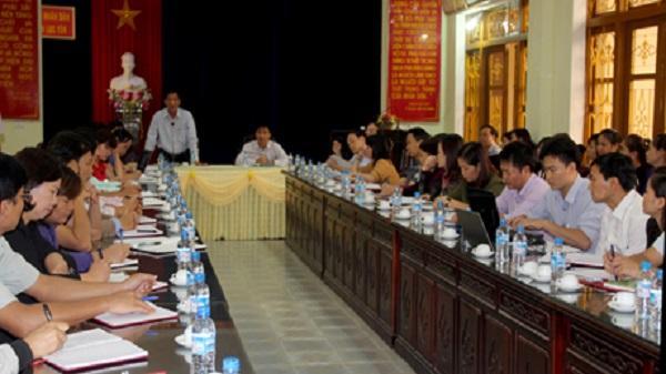 Lục Yên: Gặp mặt giáo viên chuyển đổi vị trí việc làm theo Đề án sắp xếp quy mô, mạng lưới trường lớp