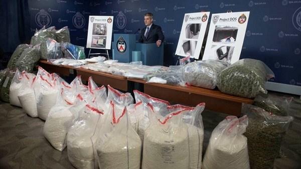 4 người Việt bị b ắt trong đường dây b uôn bán m a t úy gồm 8 người trị giá 17 triệu đô ở Toronto