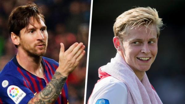 """De Jong nói 1 điều về Messi, CĐV Barca """"đứng ngồi không yên"""""""