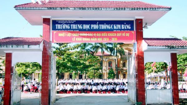 Tỉnh Hà Nam áp dụng học bạ điện tử đầu tiên trong cả nước