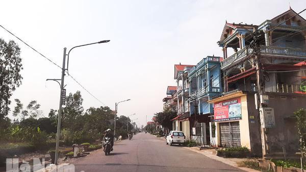 Hà Nam: Xây dựng hệ thống đèn chiếu sáng đường giao thông nông thôn