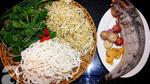 Cách nấu món bánh canh cá lóc trứ danh của người Quảng Trị không thể nào quên
