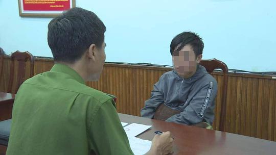 Phạm Ngọc Nam tại cơ quan điều tra