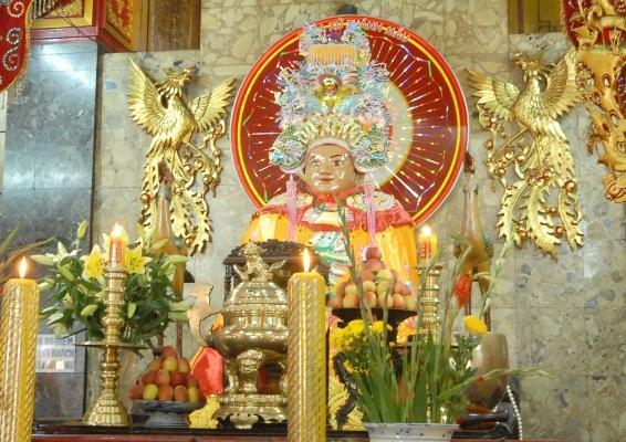 Tượng Bà Chúa Xứ - Ảnh: Nguyễn Hồ