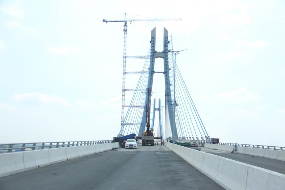 Dự kiến đến tháng 6/2019 cầu Vàm Cống sẽ chính thức thông xe để nối nhịp đôi bờ