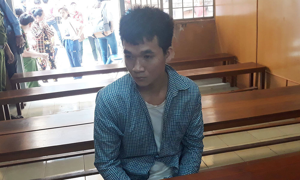 Bị cáo Võ Văn Vũ Luân