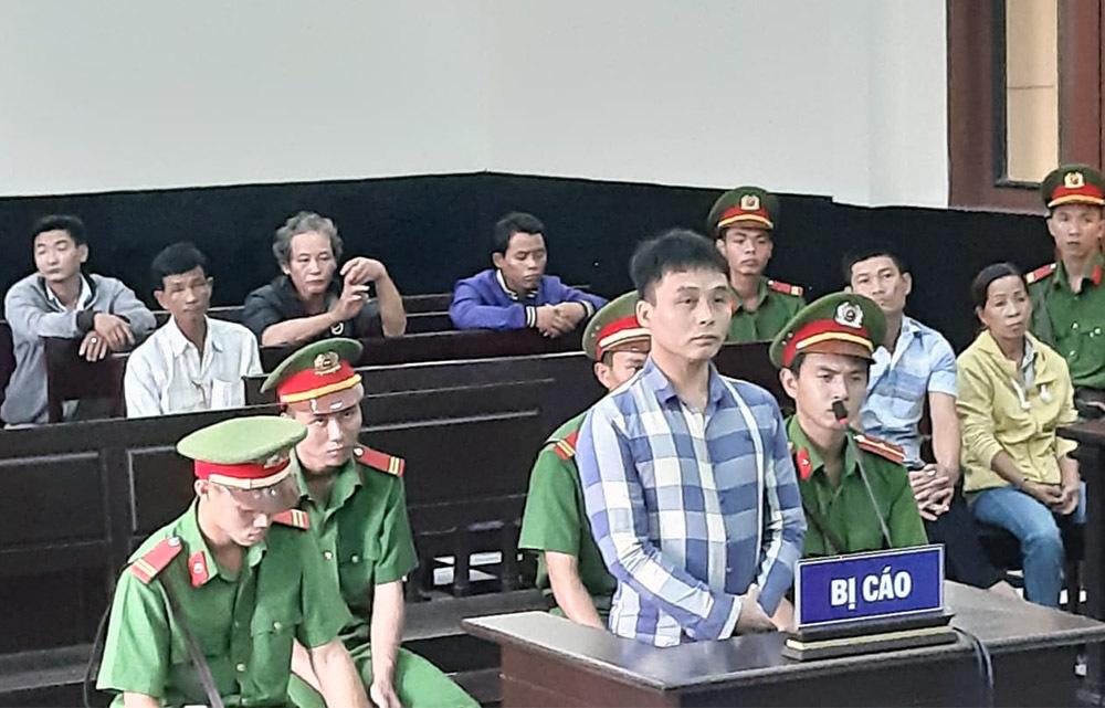 Bị cáo Khoa tại tòa