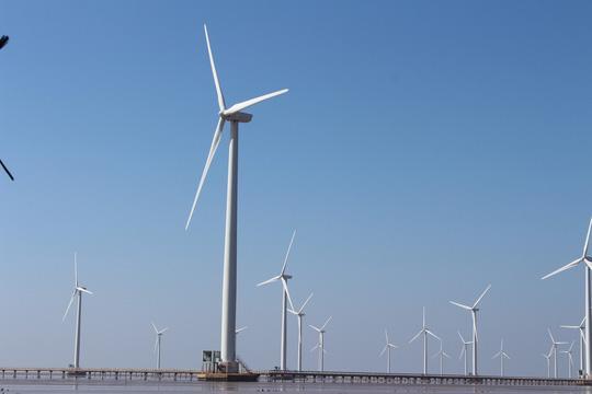 Điện gió tại TP Bạc Liêu