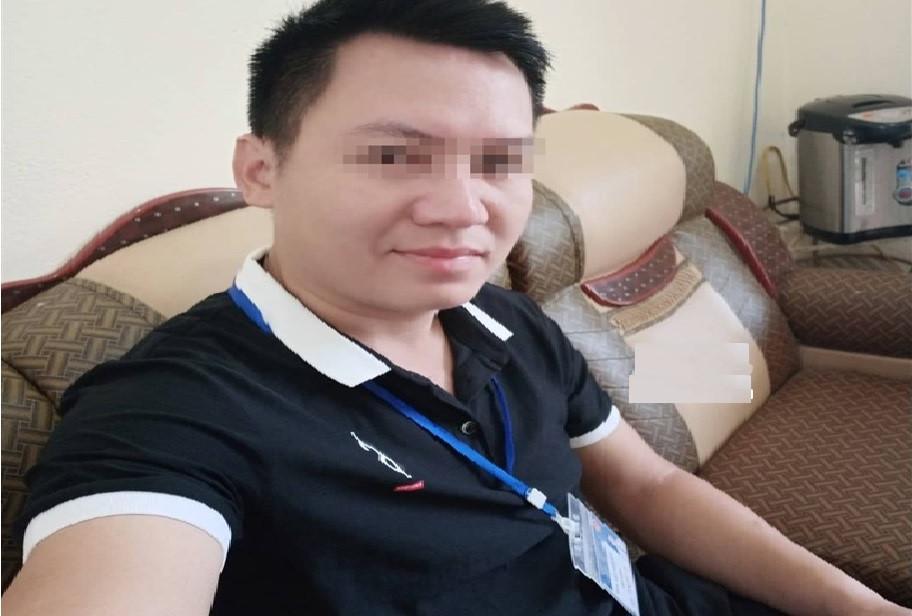 Đối tượng V.A.  - thầy giáo bị t.ố c.áo làm nữ sinh lớp 8 mang thai 3 tháng. Ảnh Nông Nghiệp Việt Nam