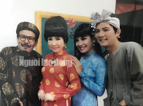 NSƯT Giang Châu nổi tiếng với vai diễn Trùm Sò trong vở Ngao, sò, ốc, hến được khán giả và đồng nghiệp yêu quý