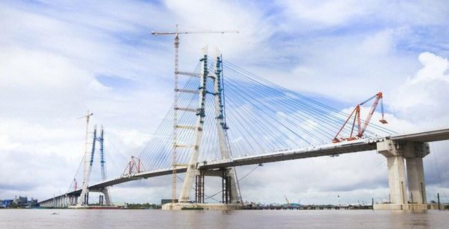 Cầu Vàm Cống được kỳ vọng sẽ thúc đẩy kinh tế - xã hội khu vực Đồng bằng sông Cửu Long sau khi được đưa vào khai thác - Ảnh minh họa